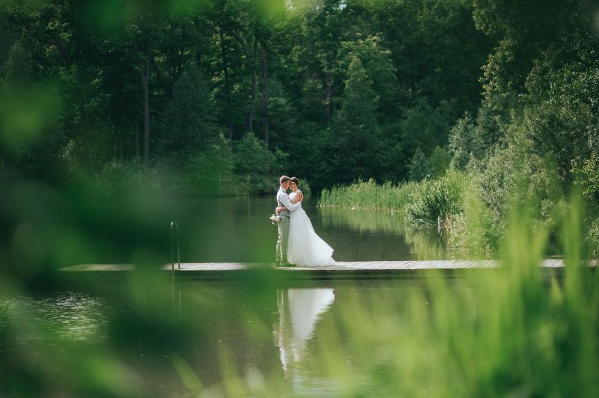 צילומי חוץ ביום החתונה