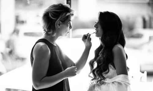 צילומי הכנות לחתונה